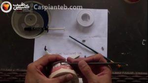 ترمیم دندان های قدامی با استفاده از نوار تفلون، تینت و مادلینگ رزین