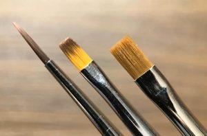 سه قلم موی پر کاربرد در ترمیم های کامپوزیتی