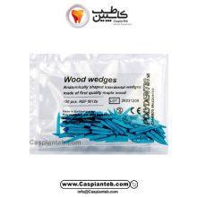 وج چوبی آبی Polydentia 12mm